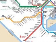 NJ Transit Rail Map