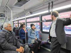 NJTIP staff on bus