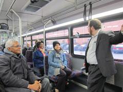 NJTIP staff on bus