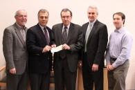 From left to right: Vito Gallo, Peter Amari, Dean James Hughes, James Zullo, and Aaron Richton
