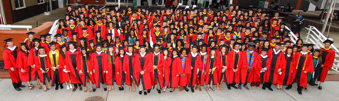 The Bloustein School's 2014 undergraduate class.