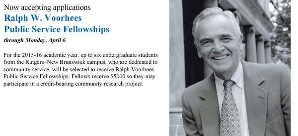 voorhees-fellowships