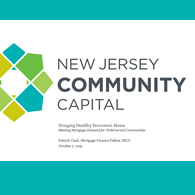 Patrick Clark new Jersey Community Capital Slide Cover