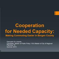 Giancaralo Di Lonardo Cooperation for Needed Capacity Slide Cover