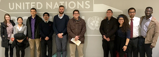 Bloustein Students at United Nations