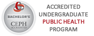 Public Health B.S. CEPH Accredited