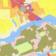 Bayshore Transit Study map