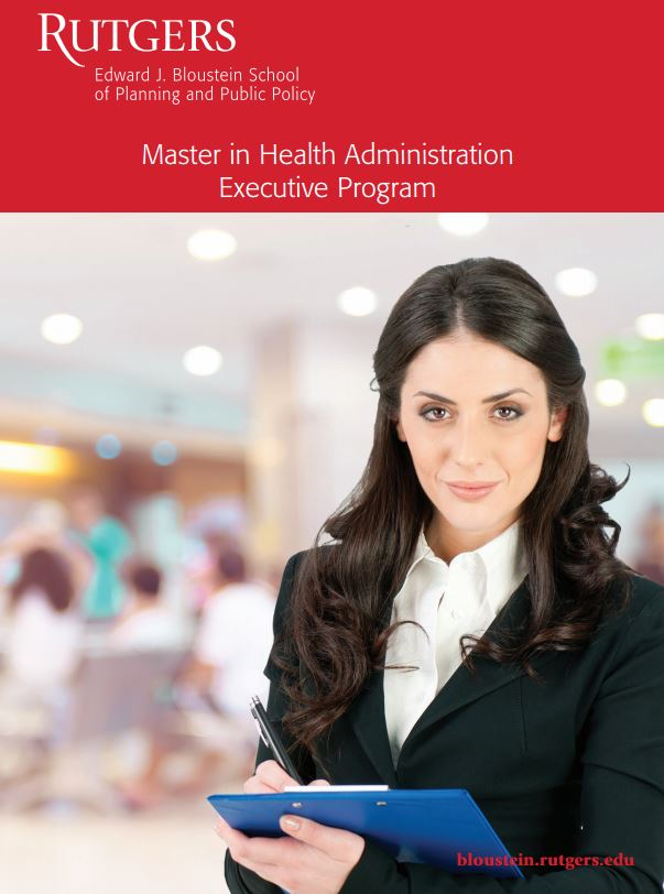 Health Administration Brochure Cover