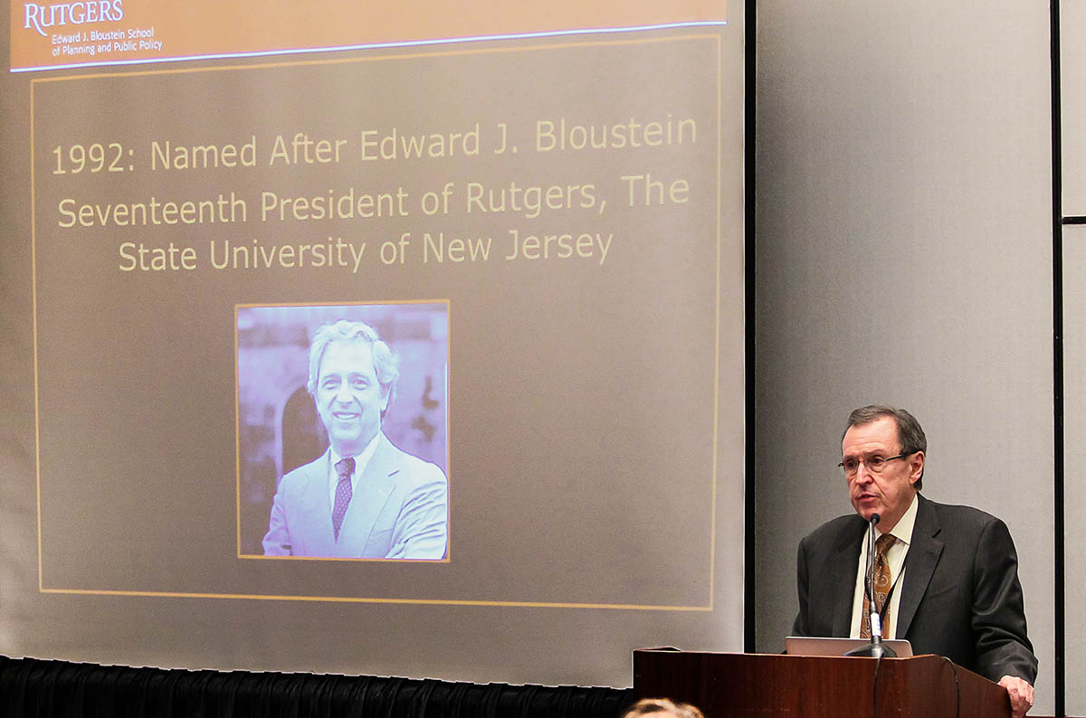 Bloustein School Dean James W. Hughes