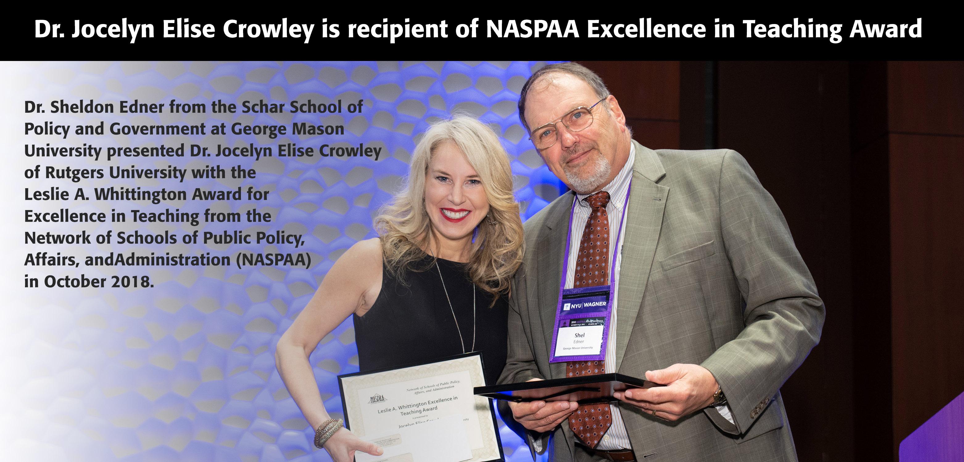 crowley-award